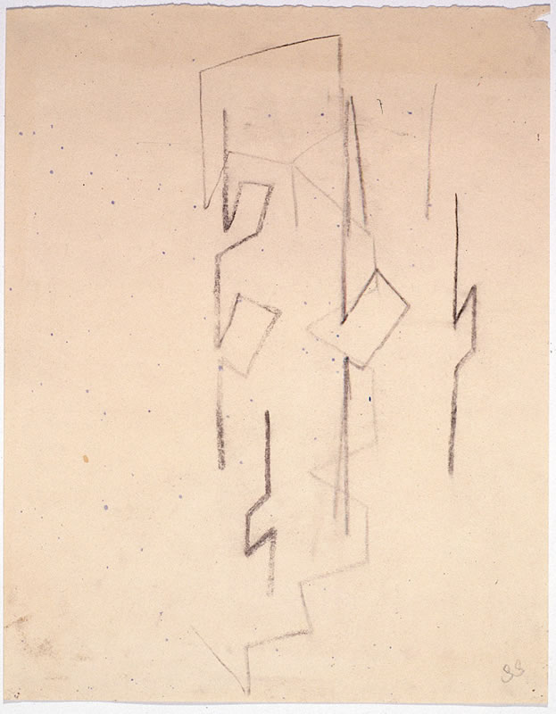 untitled drawing 1988